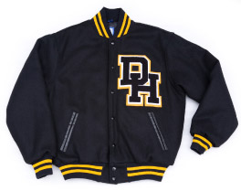 daniel hand high school varsity letter jacket