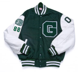 Guilford High School varsity letter jacket
